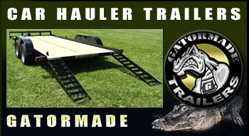 Best Car Hauler Trailer Car Hauler 16ft With Stand Up Ramps By Gator